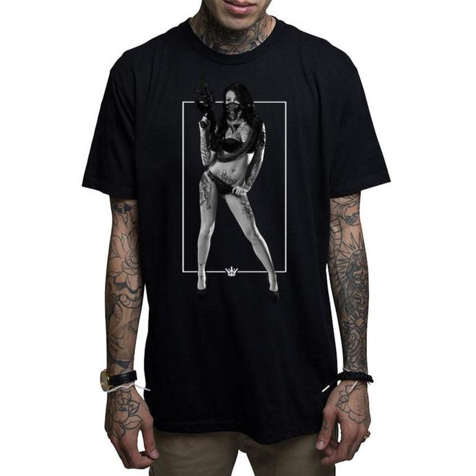 tričko pánské MAFIOSO - JANIE - BLK
