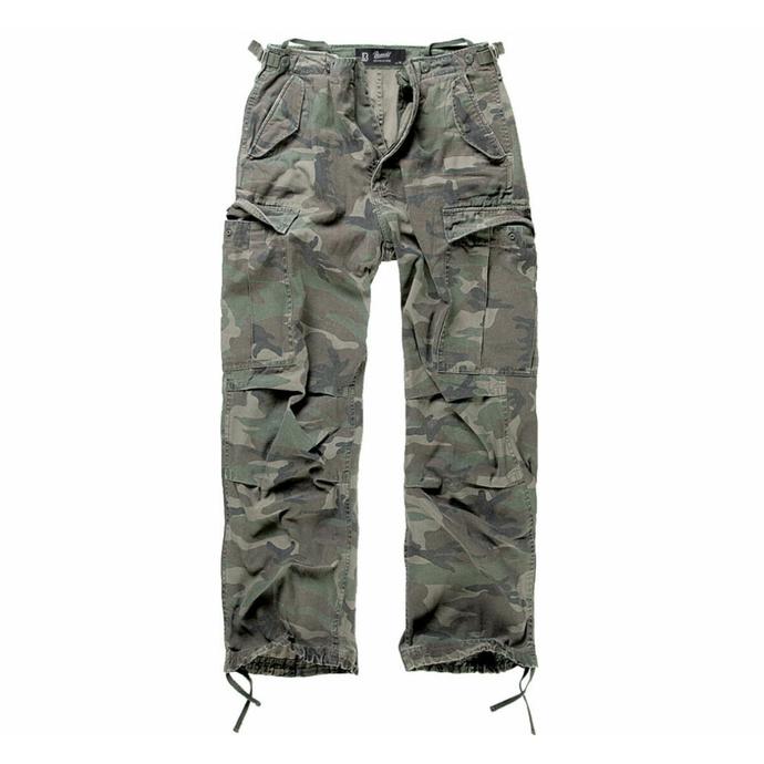 kalhoty pánské BRANDIT - M65 Vintage Trouser Woodland