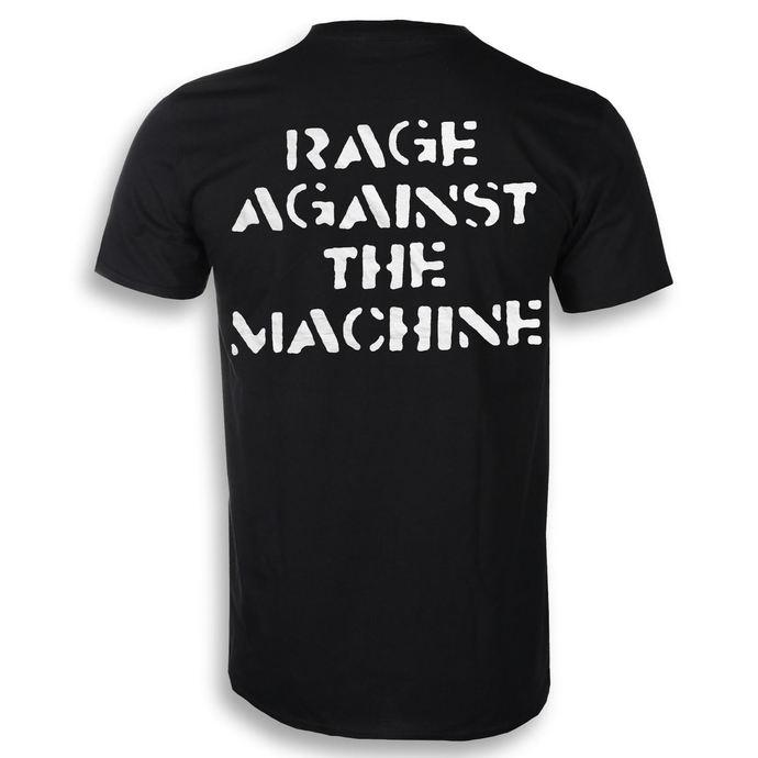 tričko pánské Rage Against The Machine - Large Fist - Black