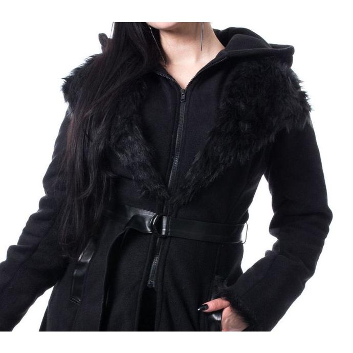 kabát dámský POIZEN INDUSTRIES - AMBELIN - BLACK