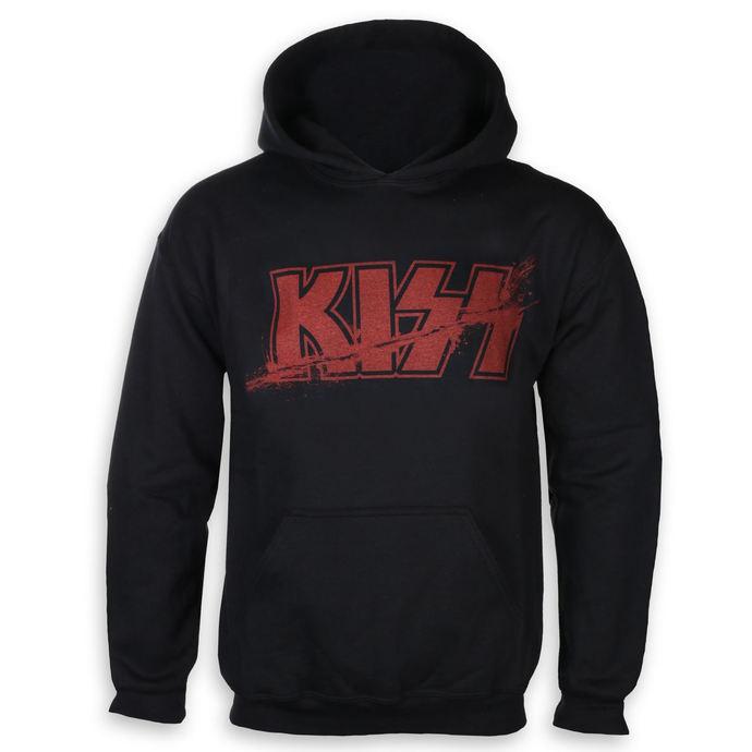 mikina pánská Kiss - Slashed Logo - ROCK OFF