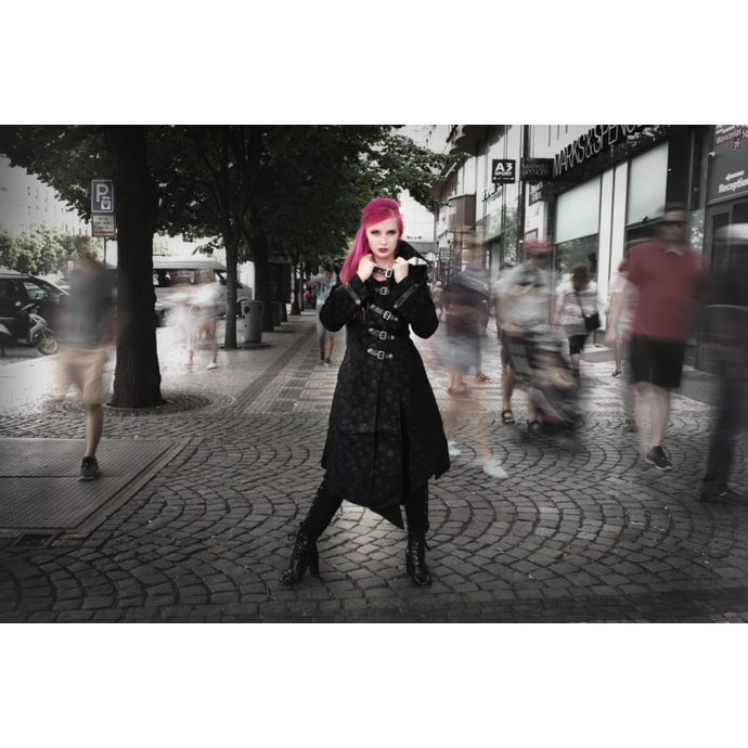 kabát dámský Devil Fashion - Gothic Shadow