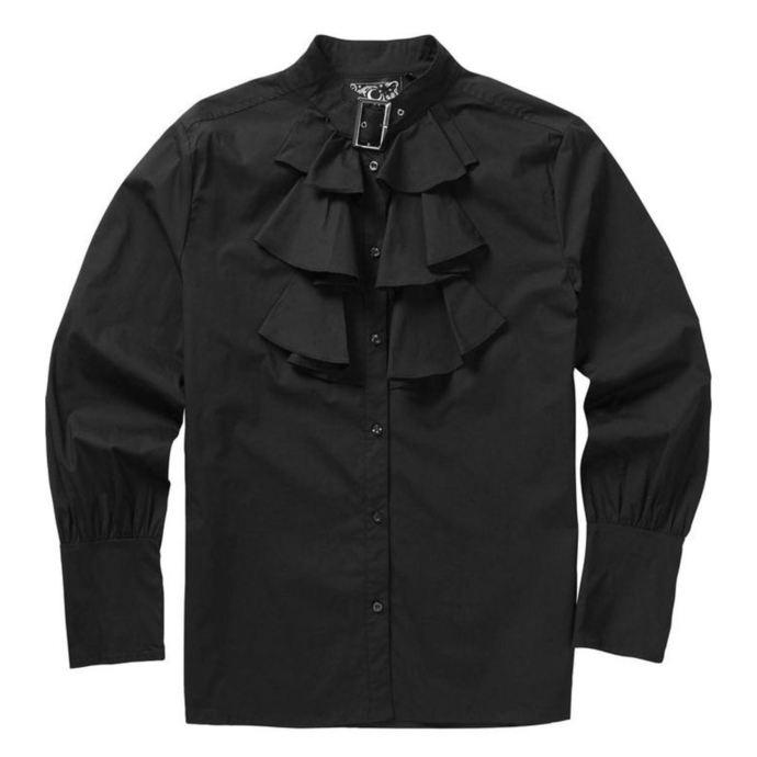 košile pánská KILLSTAR - Lestat Ruffle