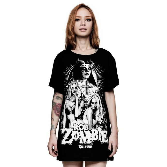 tričko dámské (top) KILLSTAR - ROB ZOMBIE - Living Dead Girl - BLACK