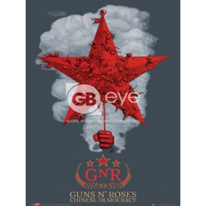 plakát - Guns N' Roses chinese - LP1259