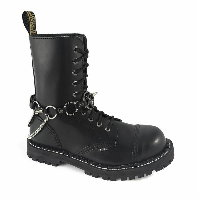 postroj na botu Baphomet rings Boot Strap