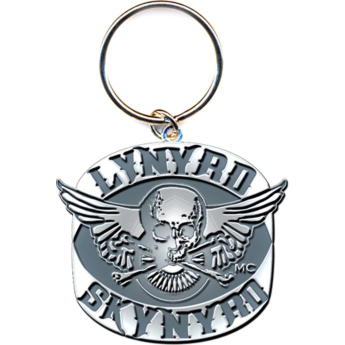 klíčenka - přívěšek Lynyrd Skynyrd (Biker Patch Logo) - ROCK OFF