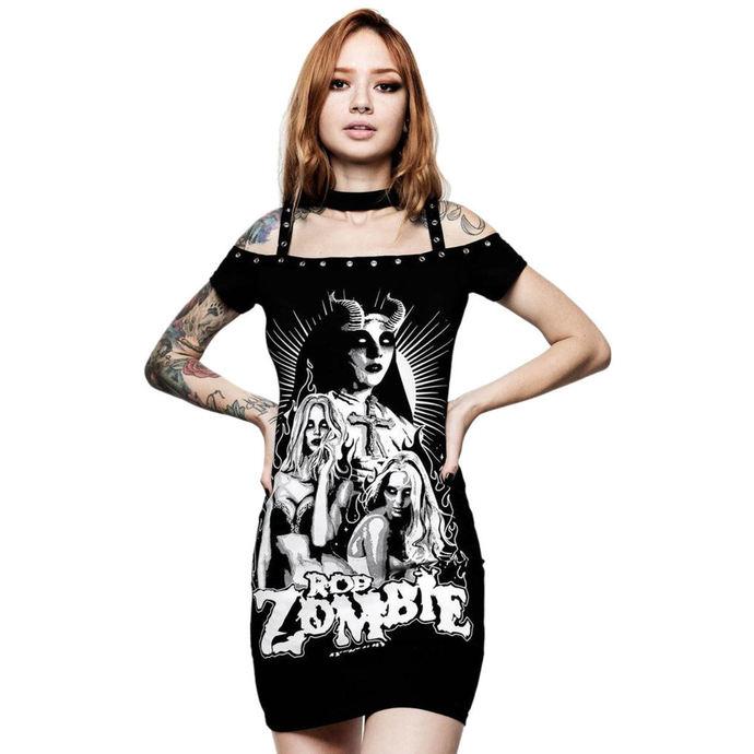 šaty dámské KILLSTAR - Rob Zombie - Lust For Death - BLACK