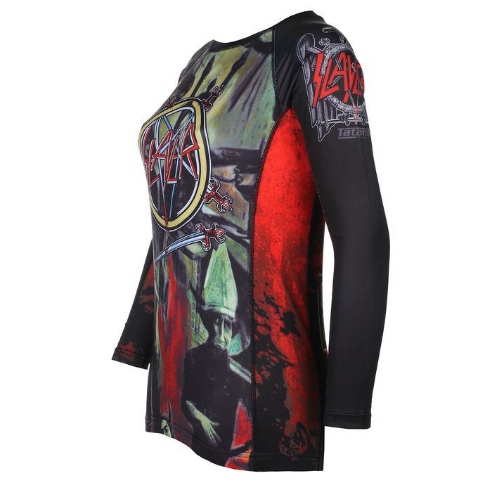 tričko dámské s dlouhým rukávem (technické) TATAMI - Slayer - Reign In Blood - Rash Guard