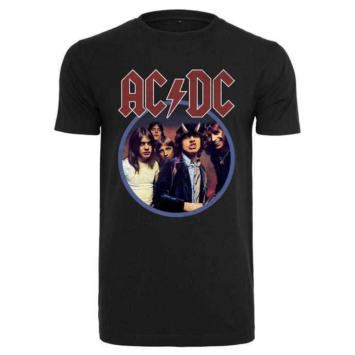 tričko pánské AC/DC - Band Logo - black