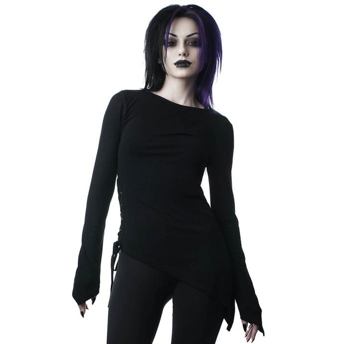 tričko dámské s dlouhým rukávem KILLSTAR - Mercury Rising - BLACK