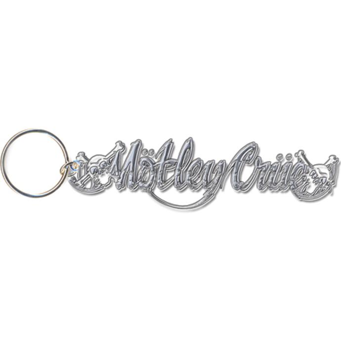 klíčenka - přívěšek Mötley Crüe (Skull Logo) - ROCK OFF