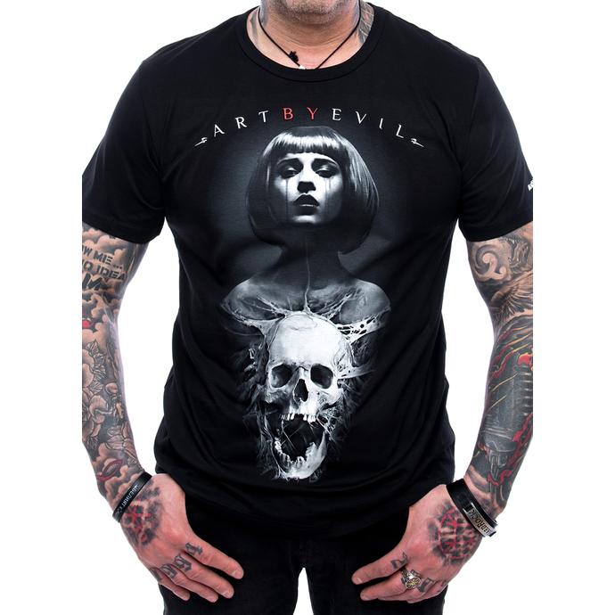 tričko pánské ART BY EVIL - Bullet
