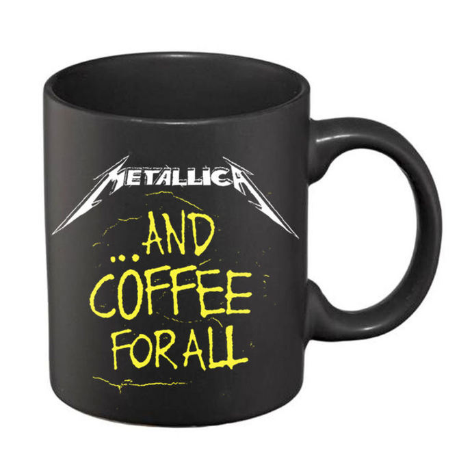 hrnek Metallica – And Coffee For All Matte - Black