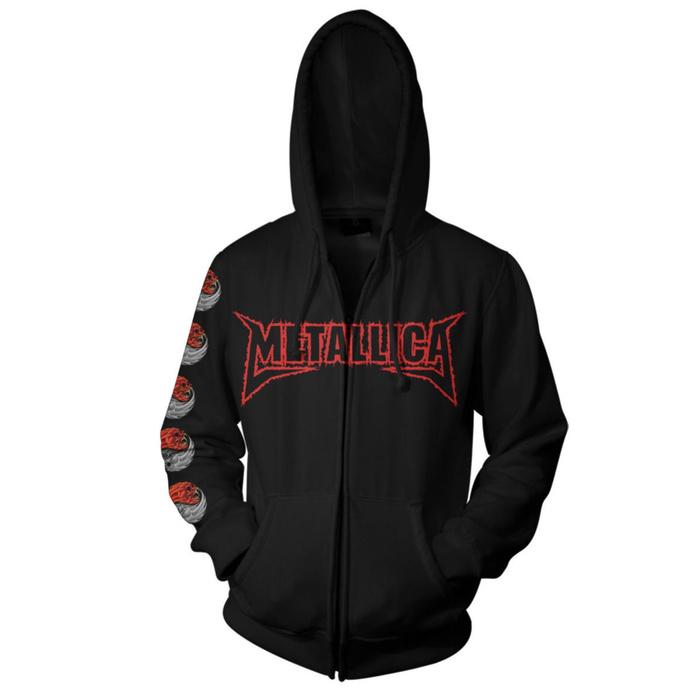 mikina pánská Metallica - Yin Yang - Black