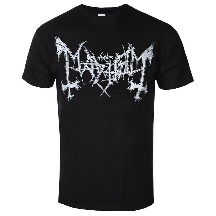 tričko pánské Mayhem - Distressed Logo - RAZAMATAZ