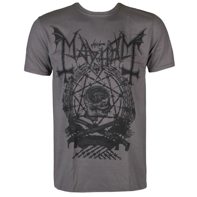 tričko pánské Mayhem - Barbed Wire - RAZAMATAZ