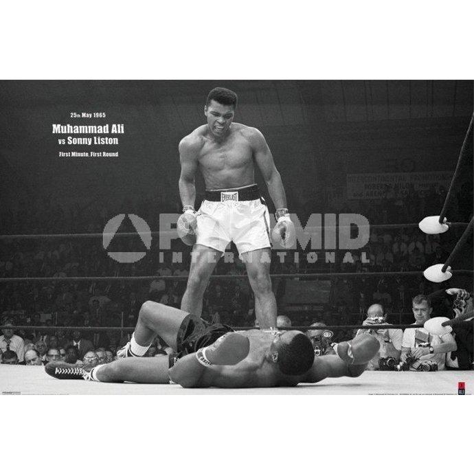 plakát Muhammad Ali (V Liston Landscape) - PYRAMID POSTERS
