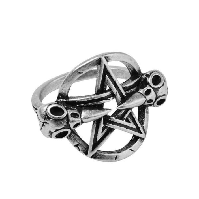 prsten KILLSTAR - Prey - SILVER