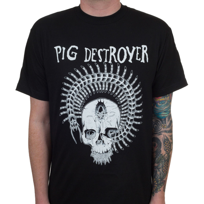 tričko pánské Pig Destroyer - Prescott - Black - INDIEMERCH
