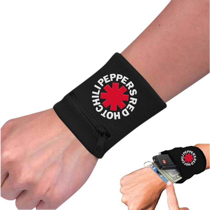 potítko Red Hot Chili Peppers - Asterisk Black