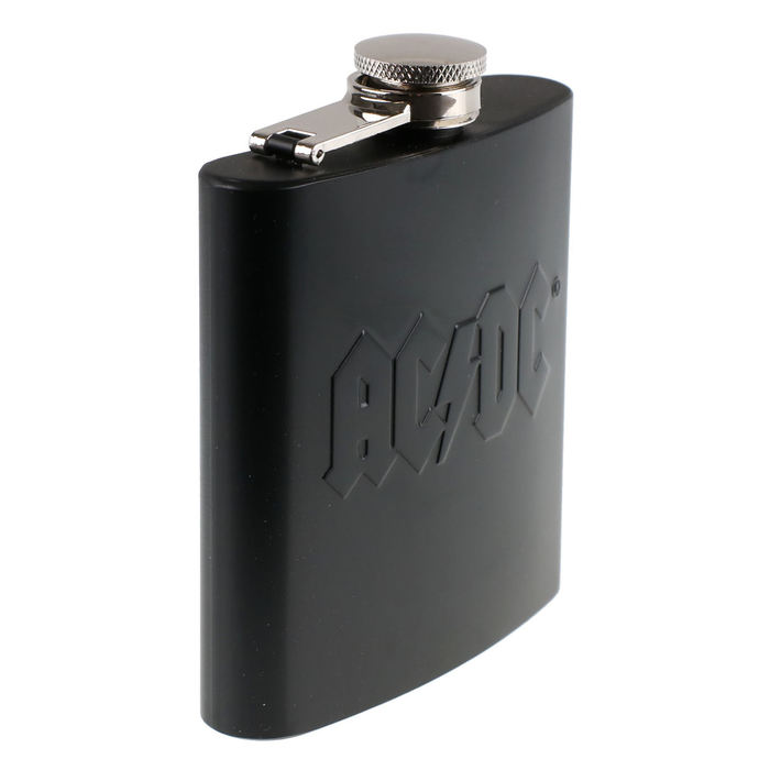 likérka AC/DC - Hip Flask Embossed