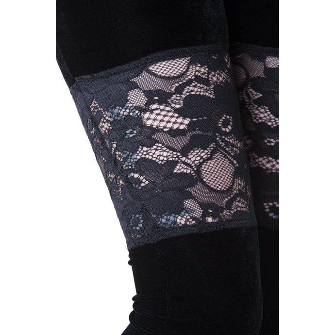 kalhoty dámské (legíny) KILLSTAR - ROSE MERRY - BLACK