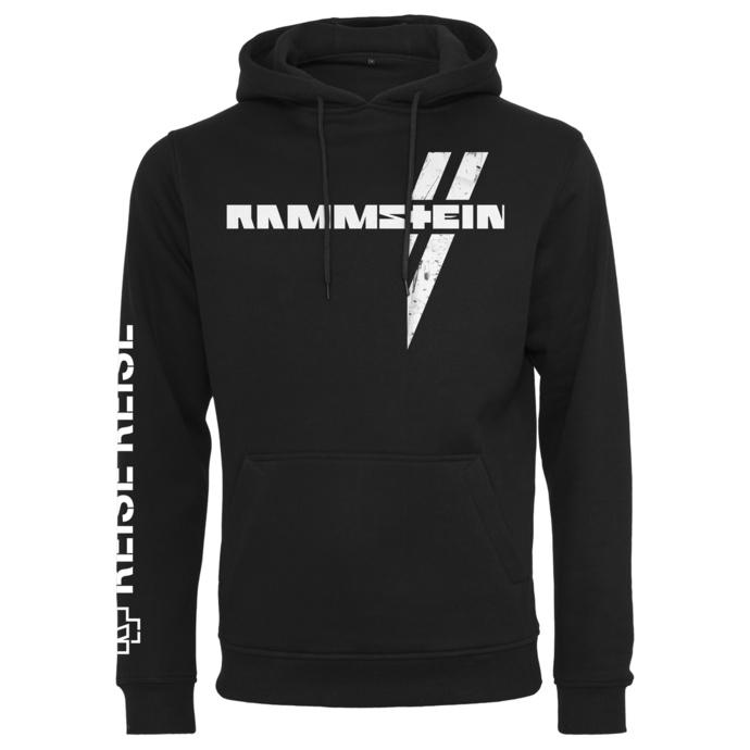 mikina pánská Rammstein - Weißes Kreuz - black