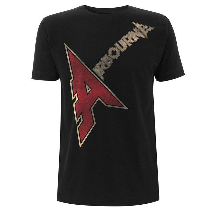 tričko pánské Airbourne - A-Logo - Black