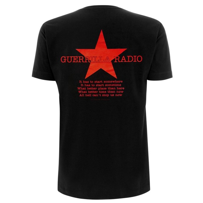 tričko pánské Rage Against The Machine - Red Square - Black
