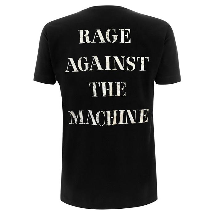 tričko pánské Rage against the machine - Molotov & Stencil - Black