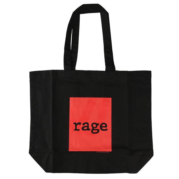 taška Rage Against the Machin - Red Square - Black Shopper