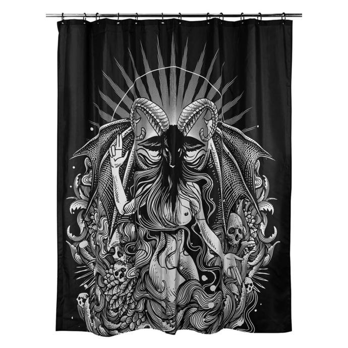 závěs do sprchy KILLSTAR - Satan is a Woman