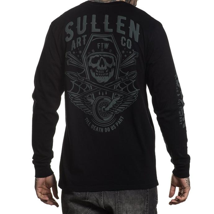 tričko pánské s dlouhým rukávem SULLEN - ORTEGA - BLACK