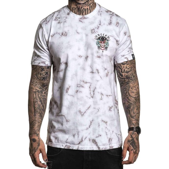 tričko pánské SULLEN - ARTICO - WHITE/GREY