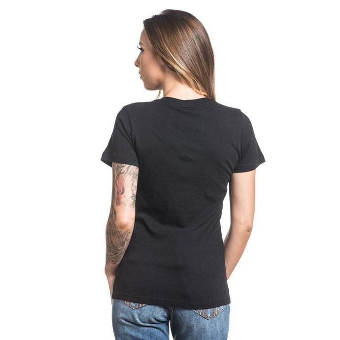 tričko dámské SULLEN - STANDARD - BLACK