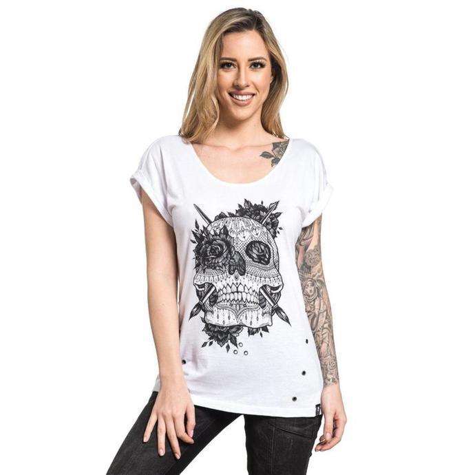 tričko dámské SULLEN - LOVE LACE - SHADOW WASH