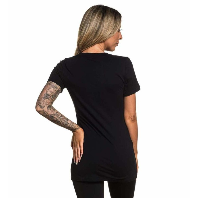 tričko dámské SULLEN - GRADED - BLACK
