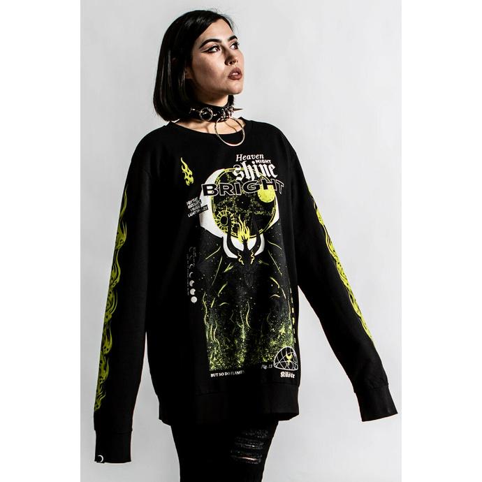 mikina unisex KILLSTAR - Shine Bright - Black