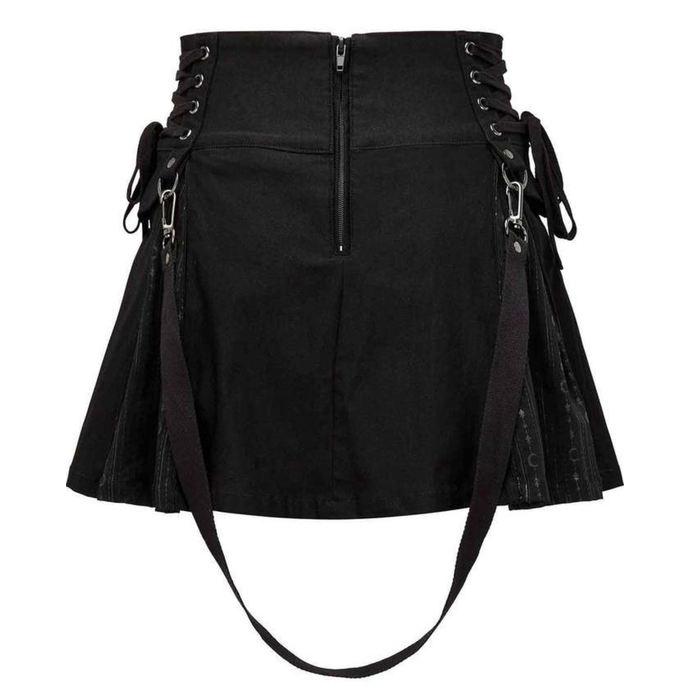 sukně dámská KILLSTAR - Sinister Scouts - Black