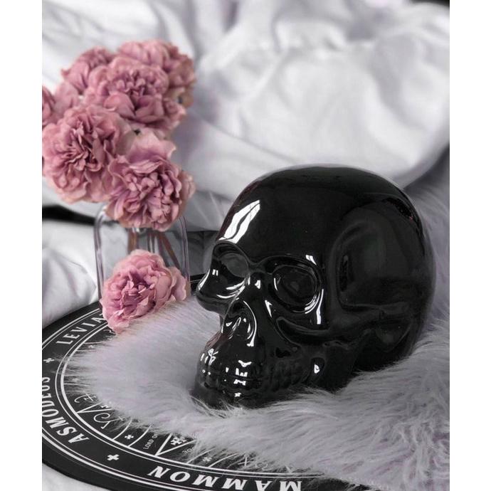 dekorace KILLSTAR - Skull - BLACK