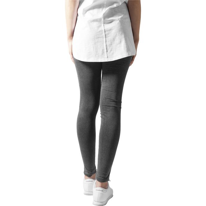 kalhoty dámské (legíny) URBAN CLASSICS - Cutted Knee Leggings - acid black
