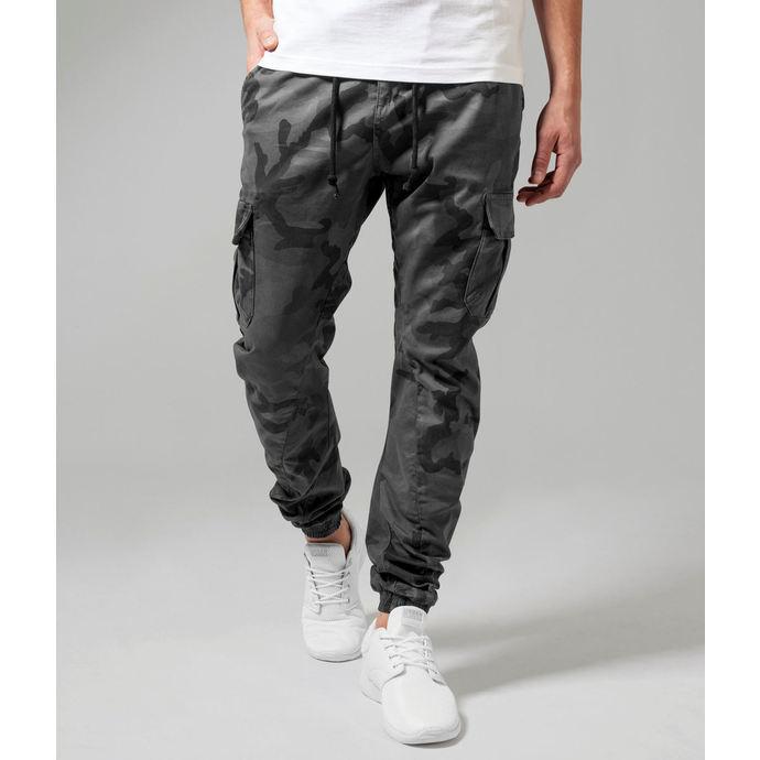kalhoty pánské URBAN CLASSICS - Camo Cargo Jogging