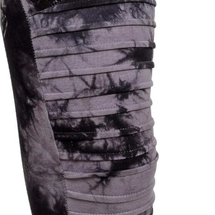 kalhoty dámské (leginy) URBAN CLASSICS - Biker Batik - grey/black