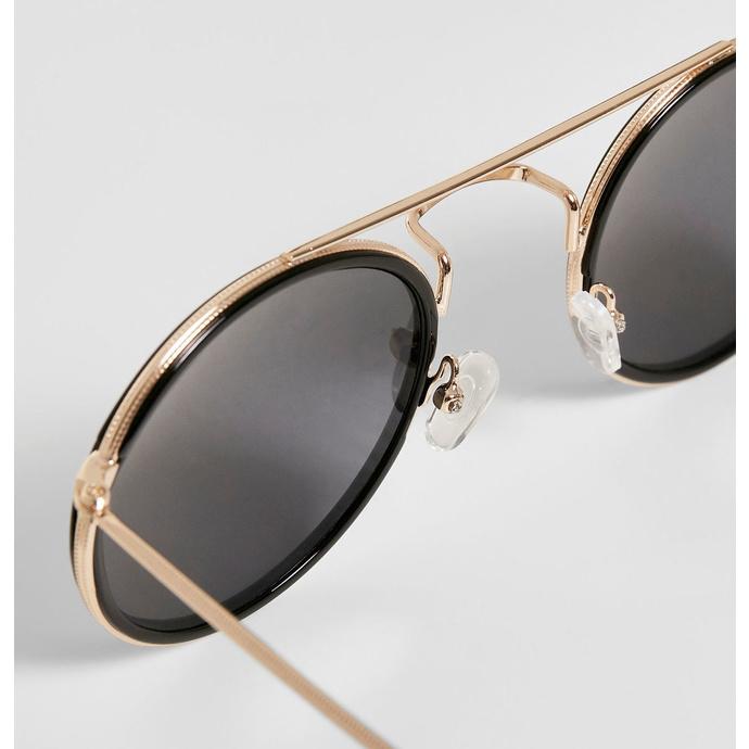 brýle sluneční URBAN CLASSICS - Palermo - black/gold - TB3588