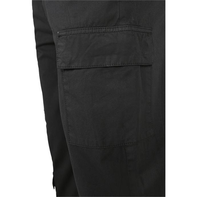 kalhoty pánské URBAN CLASSICS - Tapered Double Cargo - black