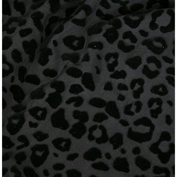 body dámské URBAN CLASSICS - Flock Lace - black