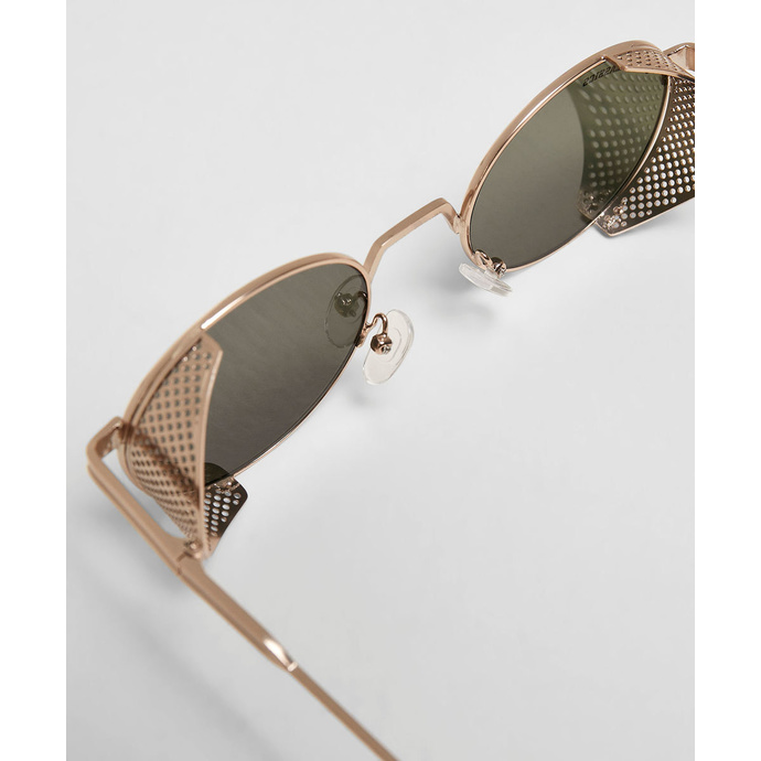sluneční brýle URBAN CLASSICS - Sicilia - anticgold/brown