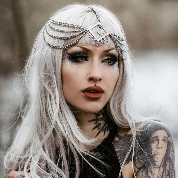 čelenka KILLSTAR - Temptress - BLACK