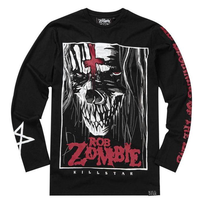 tričko s dlouhým rukávem (unisex) KILLSTAR - Rob Zombie - The End - BLACK